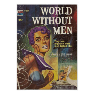 Poster Monde sans hommes