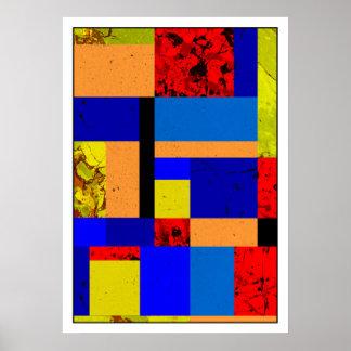 Poster Mondrian #3-1