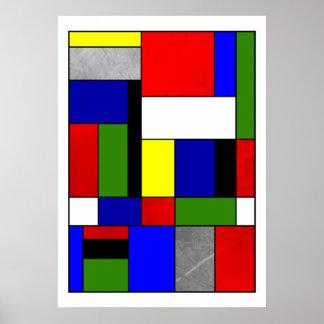 Poster Mondrian #4