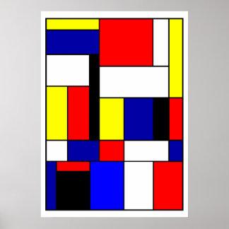 Poster Mondrian #42