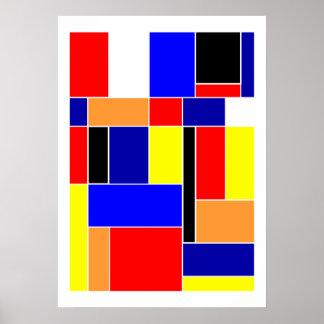 Poster Mondrian #48