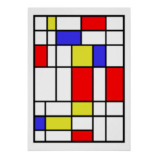 Poster Mondrian #58