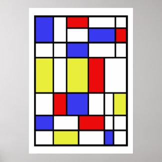 Poster Mondrian #59