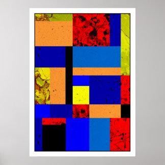 Poster Mondrian #6-1