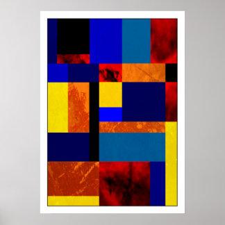 Poster Mondrian #7-1
