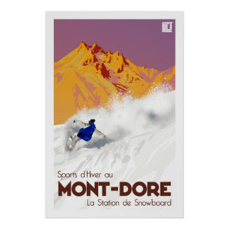Poster Mont Dore