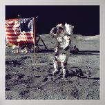 Poster Moonwalk Apollo 17