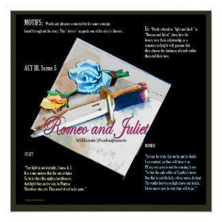 Poster Motifs de Romeo et de Juliet