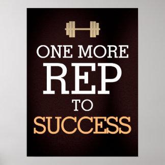 Poster Motivation de séance d'entraînement de forme