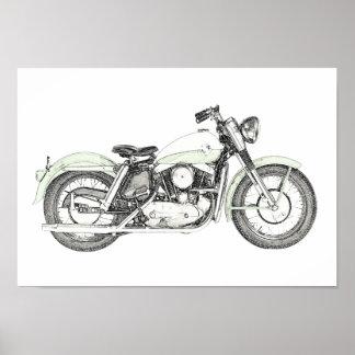 Poster Moto 1957 de Sportster