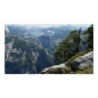 Poster Mountain View de Yosemite en parc national de