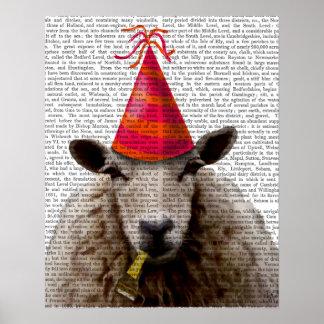 Poster Moutons de partie