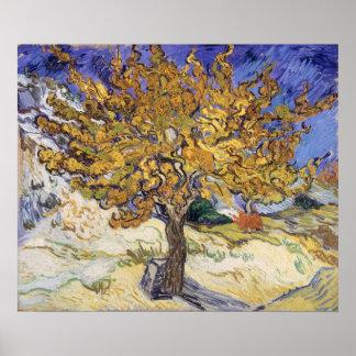 Poster Mûrier de Vincent van Gogh |, 1889