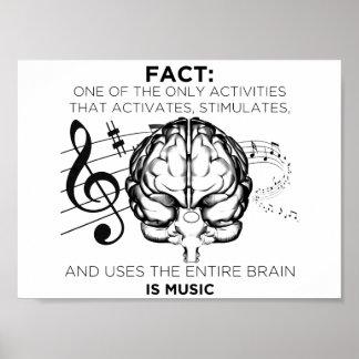 Poster Musique pour l'esprit
