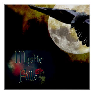 Poster Mystic Falls grande taille