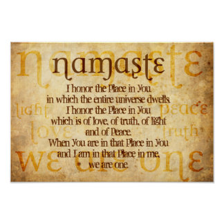 Poster Namaste
