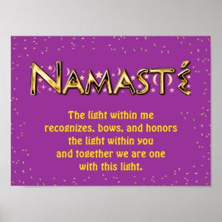 Poster Namasté