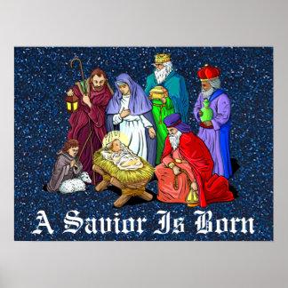 Poster nativité