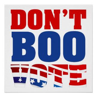 Poster Ne huez pas le vote