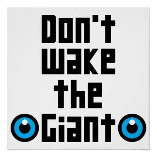 Poster Ne réveillez pas le géant