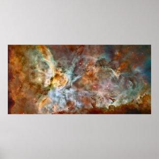 Poster Nébuleuse de Carina - NGC 3372