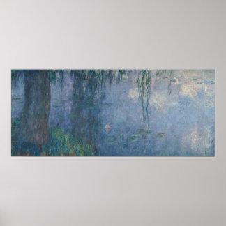 Poster Nénuphars de Claude Monet | : Saules pleurants,