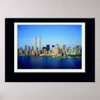 Poster New York City s'est rappelé la copie
