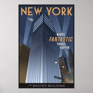 Poster New York fantastique