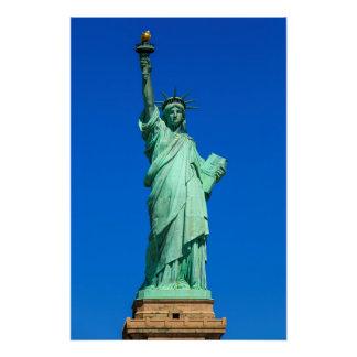 Poster New York, statue de la liberté