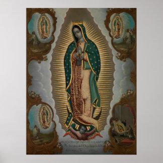 Poster Nicols Enrquez la Vierge de Guadalupe