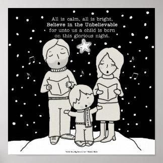 Poster Noël Caroling