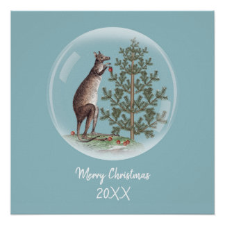 Poster Noël en Australie