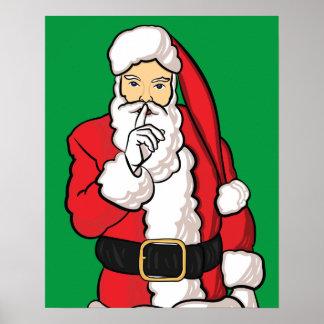 Poster Noël le père noël