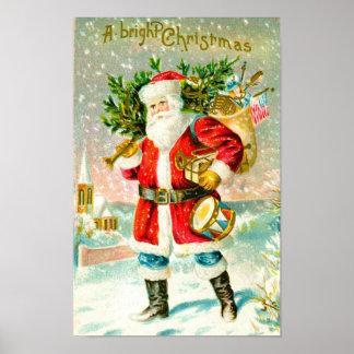 Poster Noël lumineux