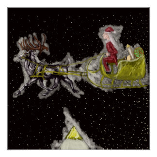Poster Noël pléistocène