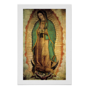 Poster Notre Madame d'affiche de Guadalupe Framable