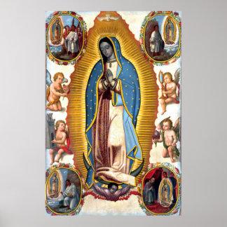 Poster Notre Madame d'affiche de visions de Guadalupe