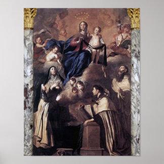 Poster Notre Madame du mont Carmel