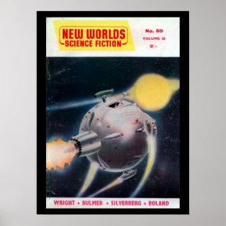 Poster Nouvel art de _Pulp des mondes 059 (1957-05.Nova)