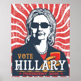 Poster Nuances de Hillary