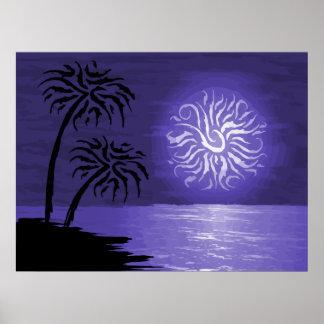 Poster Nuit extraordinaire d'île