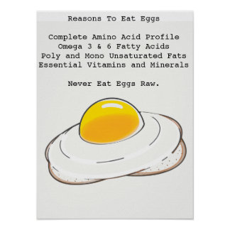 Poster Oeufs