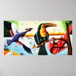 Poster Oiseaux d'art de Rickshaw