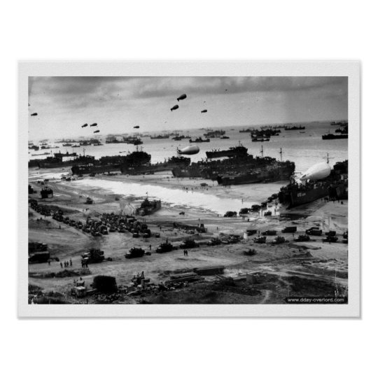 Poster Omaha Beach