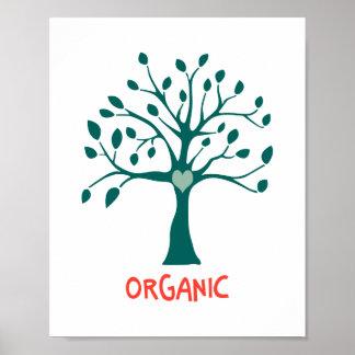 Poster Organique