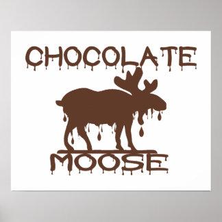 Poster Orignaux de chocolat