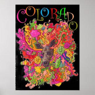 Poster Orignaux du Colorado