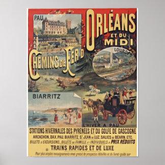Poster Orléans de charme