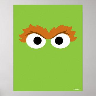 Poster Oscar le grand visage de rouspéteur