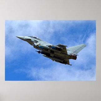 Poster Ouragan FGR.4 de RAF Eurofighter